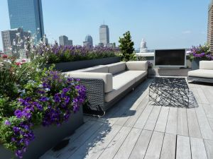 Greentop Residential Rooftop Planter Installations