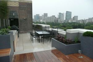 Greentop Rooftop Insulated Planter Installations