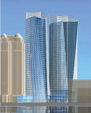 Nesco Towers Residential/Office High Rise  w/ ZNA